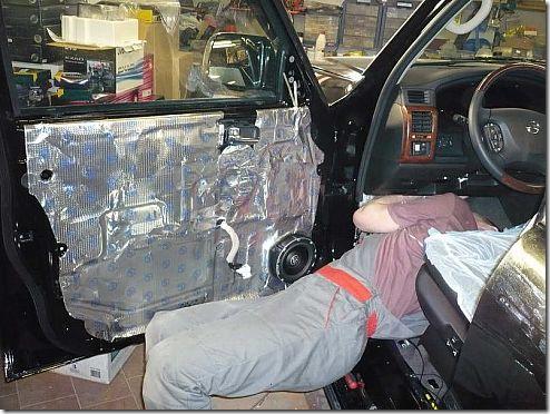 инсталляция в Nissan Patrol