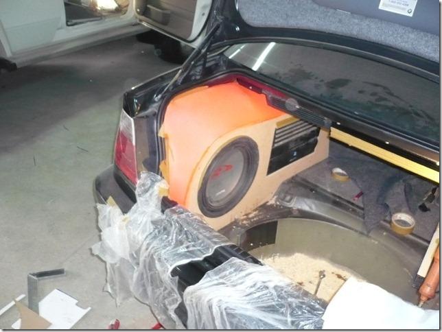 Инсталяция BMW E46