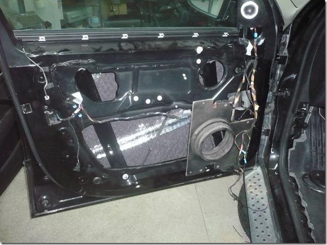 Инсталляция в BMW X5 E70 2009г.
