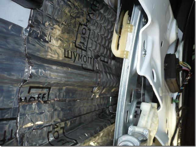 Шумоизоляция дверей Ford Focus 3 2012г.в.