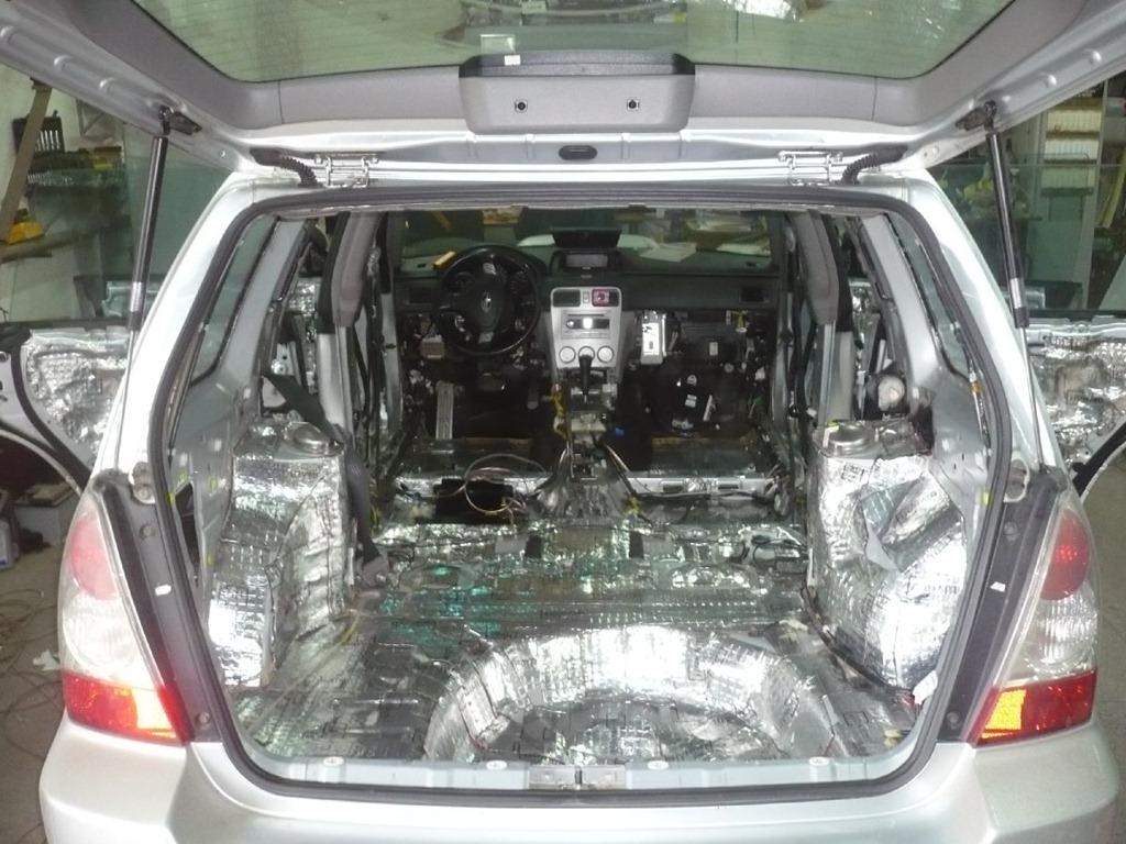 Шумоизоляция автомобиля материалы ставрополь