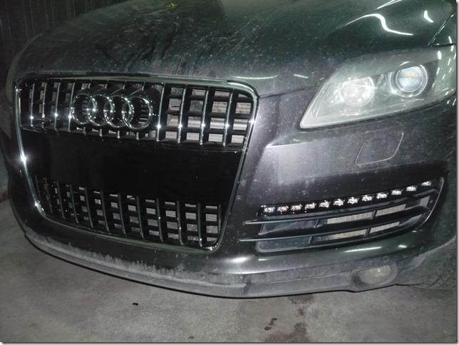 Рестайлинг Audi Q7 2009г.в.