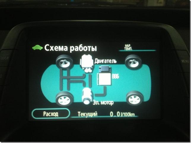 Русификация и обновление навигации на Toyota Prius 20 2008 года