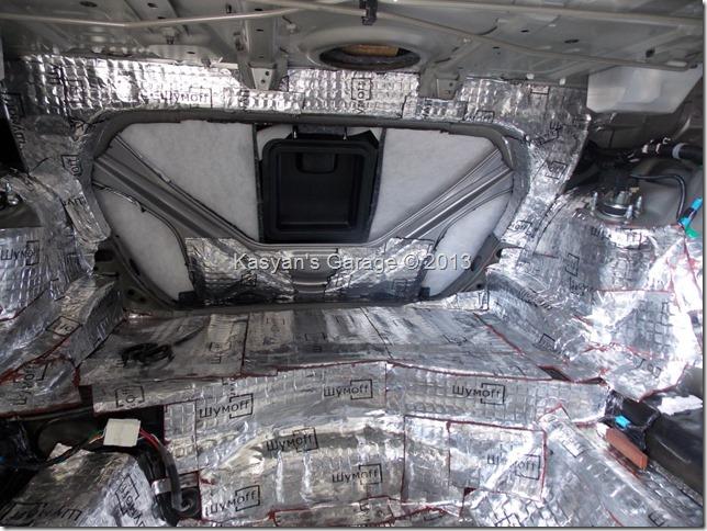 Комплексная шумоизоляция Lexus GS350 материалами Шумофф