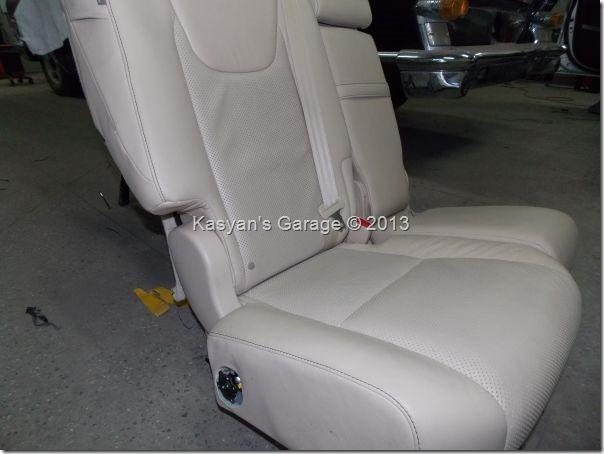 Установка подогрева задних сидений Lexus RX450H 2013 года