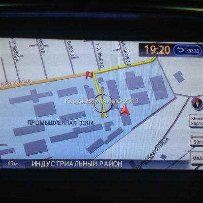 Установка карт России 2013 года для Nissan Tiana c 2010 года