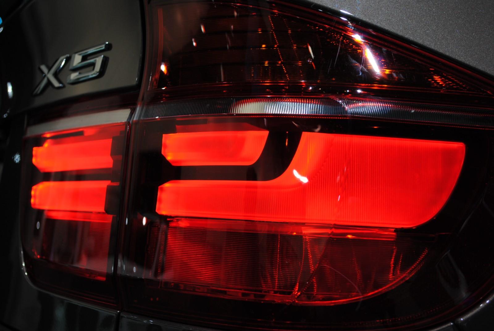Переделка задних американских фонарей на BMW X5 E70