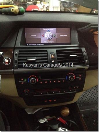Установка CIC (Car Information Computer) на BMW X5 E70 2007г.в. и обновление карты навигации 2014.