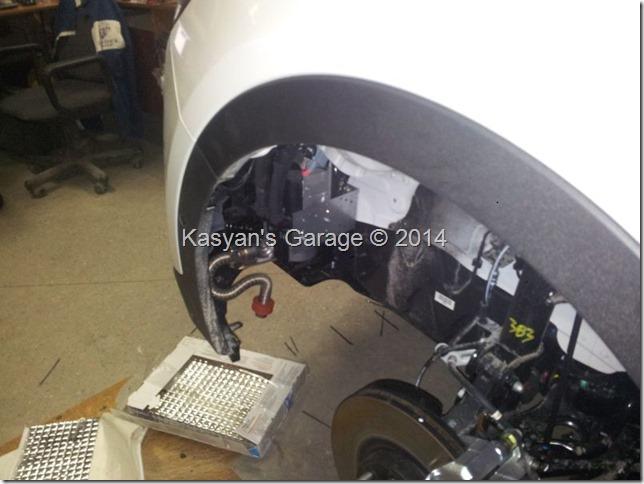 Установка Webasto и шумоизоляция арок Hyundai SantaFe New