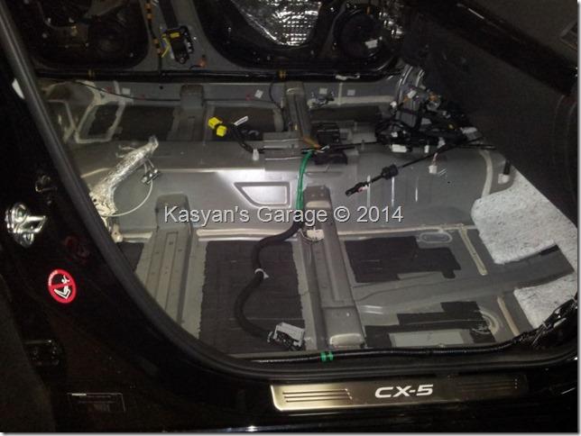 Шумоизоляция Mazda CX-5