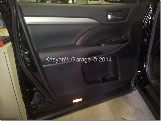 Шумоизоляция Toyota Highlander 2014