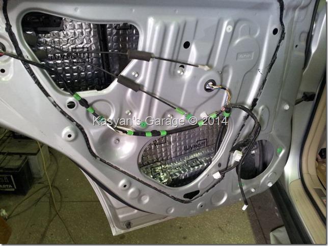 Шумоизоляция Lexus RX350