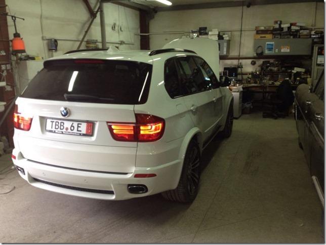 Чип-тюнинг BMW X5 E70 40D