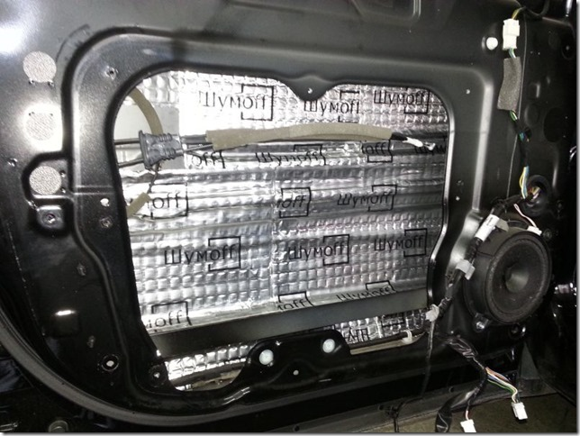 Шумоизоляция автомобиля Nissan X-trail 2012