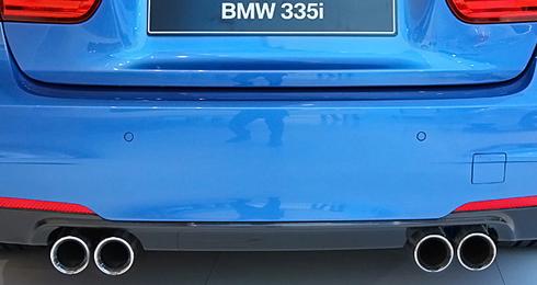 Установка выпускной системы Eisenmann на BMW F30 320