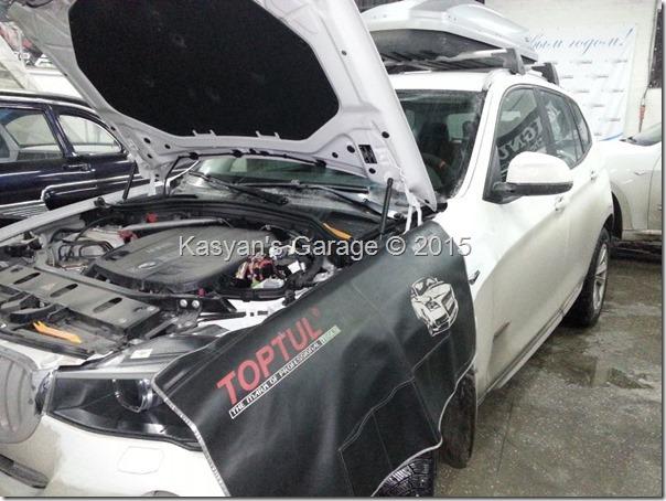 BMW X3 F25 30d 2014 года - Чип-тюнинг и обновление навигации.