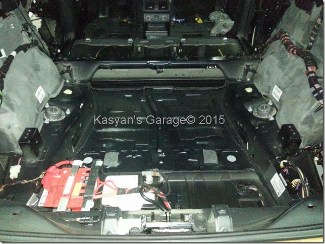 Шумоизоляция BMW X6M E71
