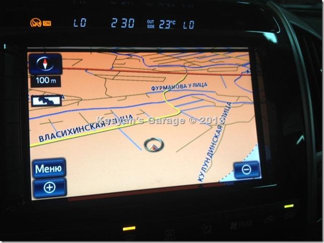 Обновление навигации на Toyota Land Cruiser 200 2012г.в., карта 2013-2014.