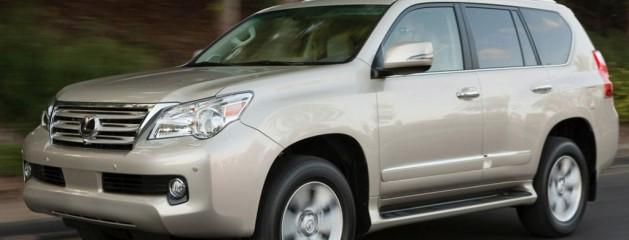 Русификация и конверсия Lexus GX460 2010 года выпуска