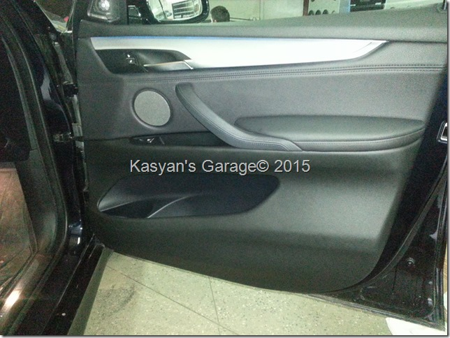 Шумоизоляция дверей BMW X5 F15 M50D