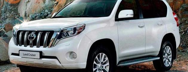 Шумоизоляция Toyota LandCruiser Prado 150 2015 года выпуска.