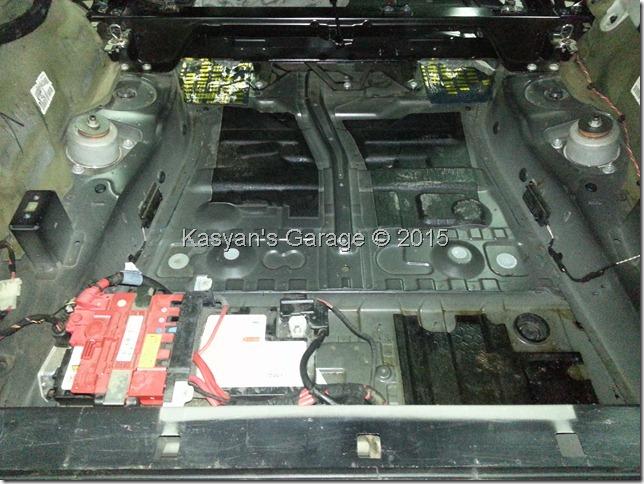 Шумоизоляция BMW X5 E70