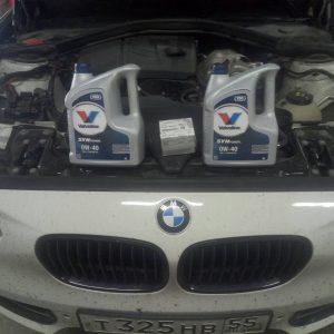 Замена масла BMW F15, F16, F20, F25, F30, E70, E71